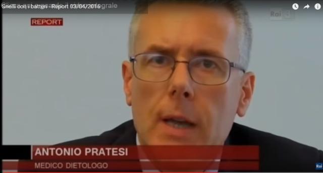 Antonio Pratesi a Report